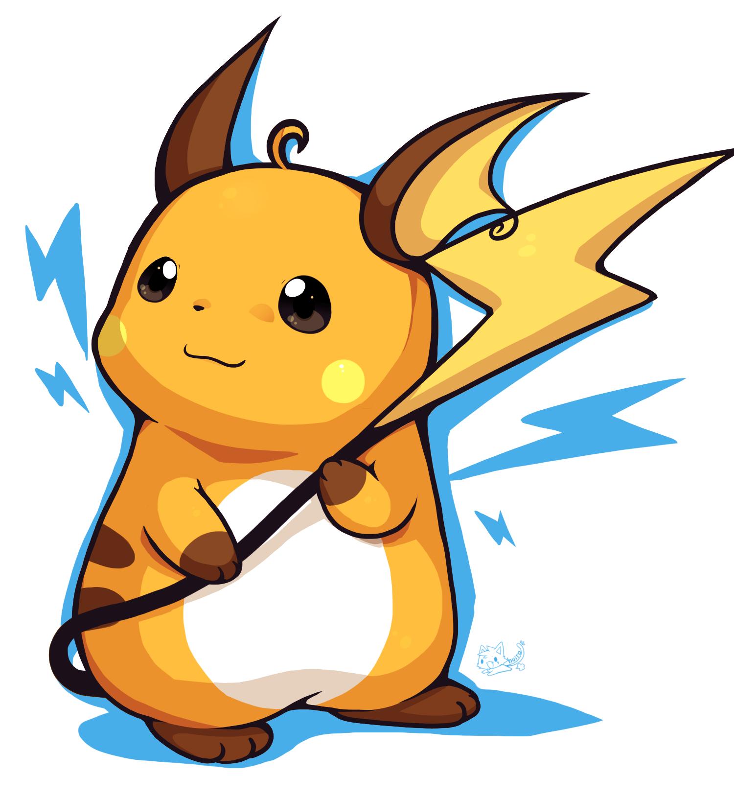 Pokemon Raichu #92960: huiro -...