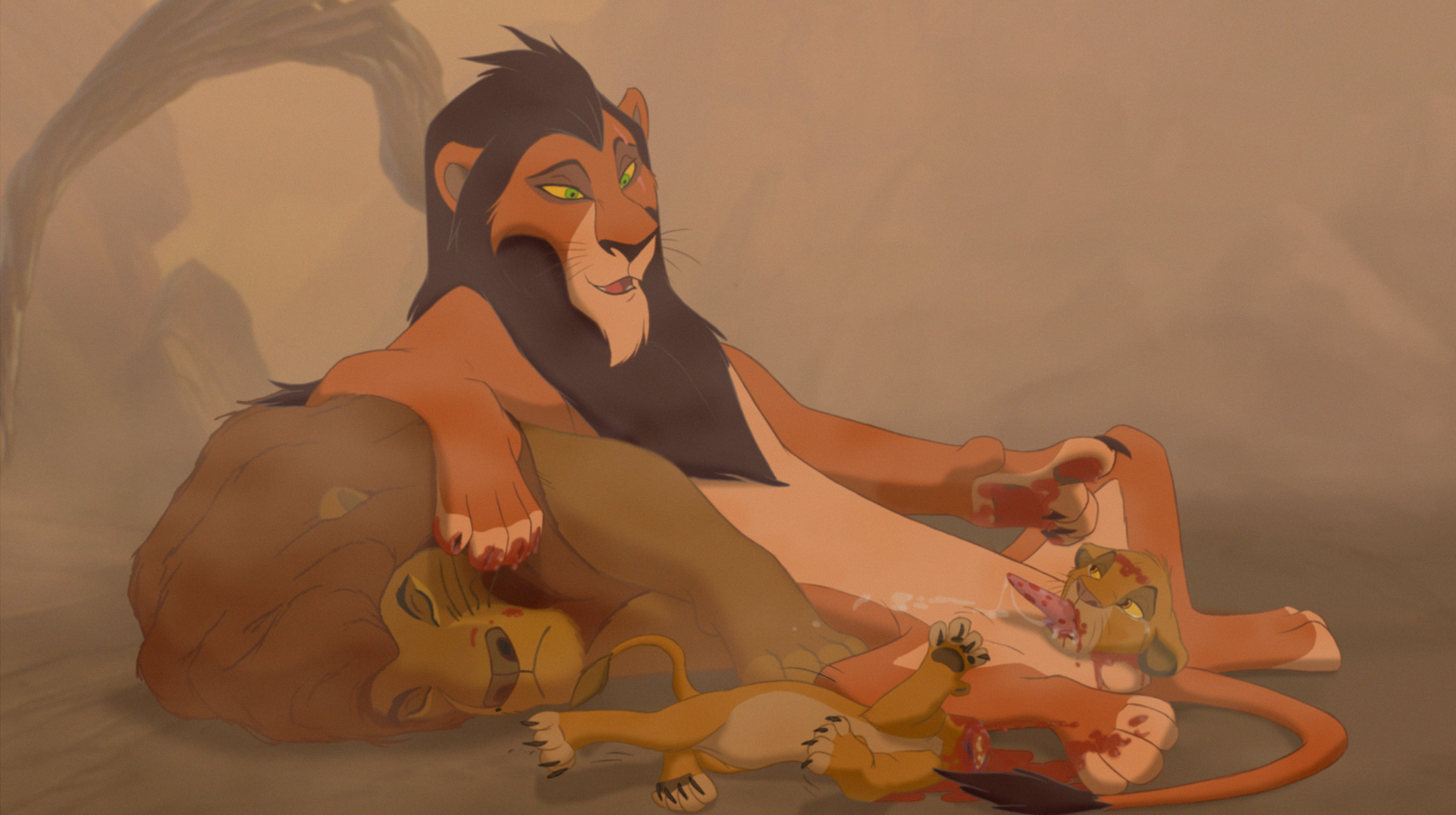 The lion king gay porn