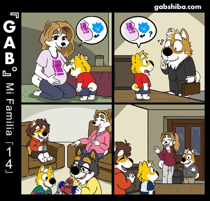 Mi familia gab shiba