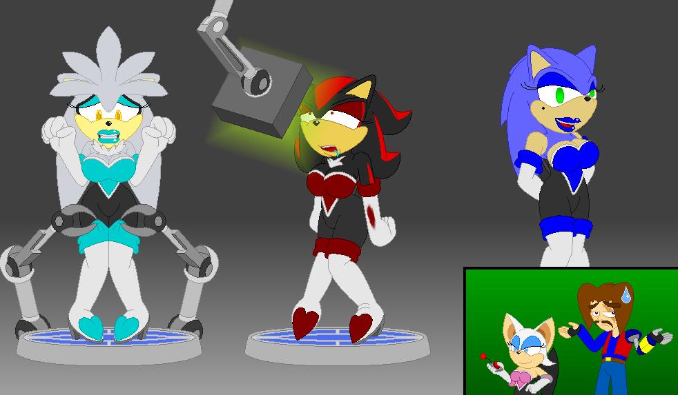 Bimbofication Sonic the Hedgehog