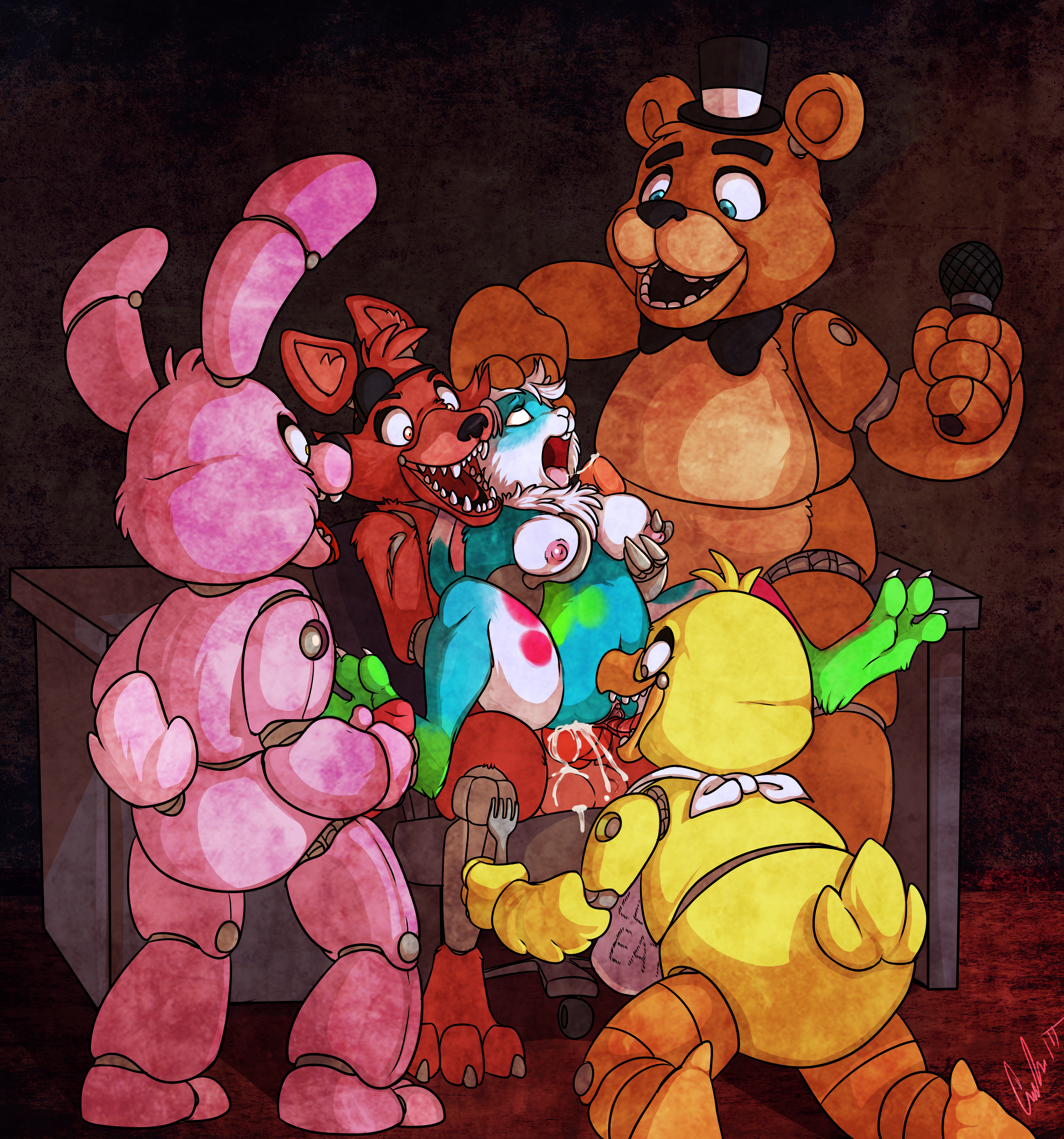 Foxy And Chica Sex
