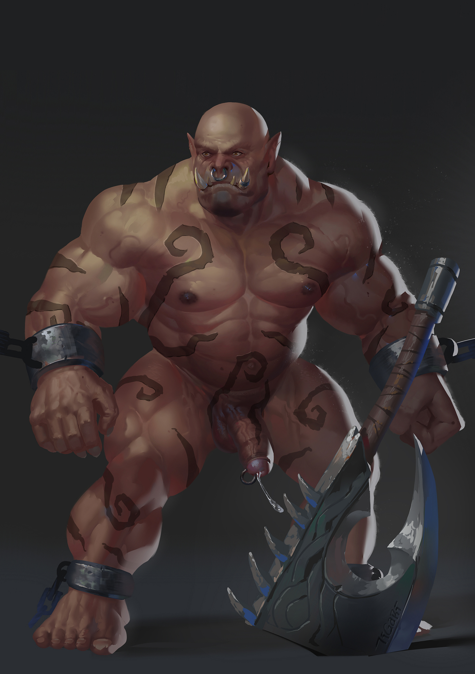Sexy Nude Orc Male Pictures