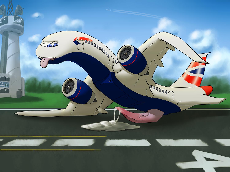 airplane porn