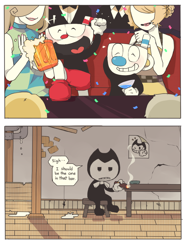 bendy and the ink machine e621
