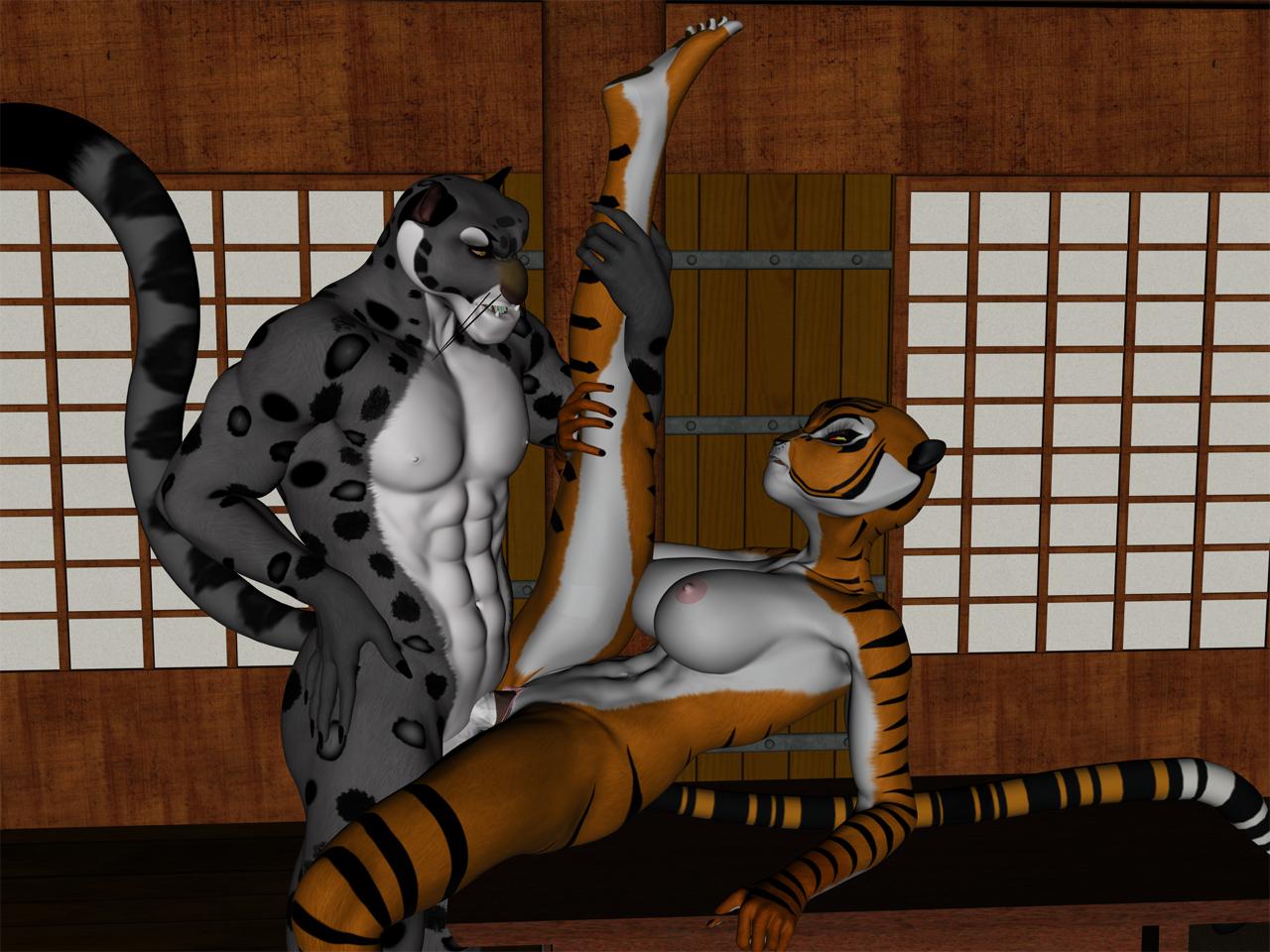 Кунг фу панда порно секс с тигрицей фото 784-63