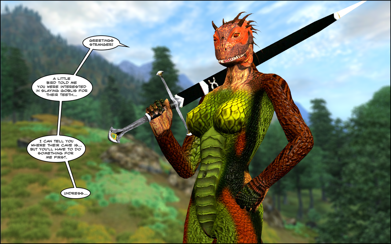 e621 16:10 3d_(artwork) anthro argonian breasts digital_media_(artwork) female garry's_mod holding_object holding_weapon melee_weapon nude oblivion outside pussy reptile savira scalie solo sword the_elder_scrolls turtle-head video_games weapon