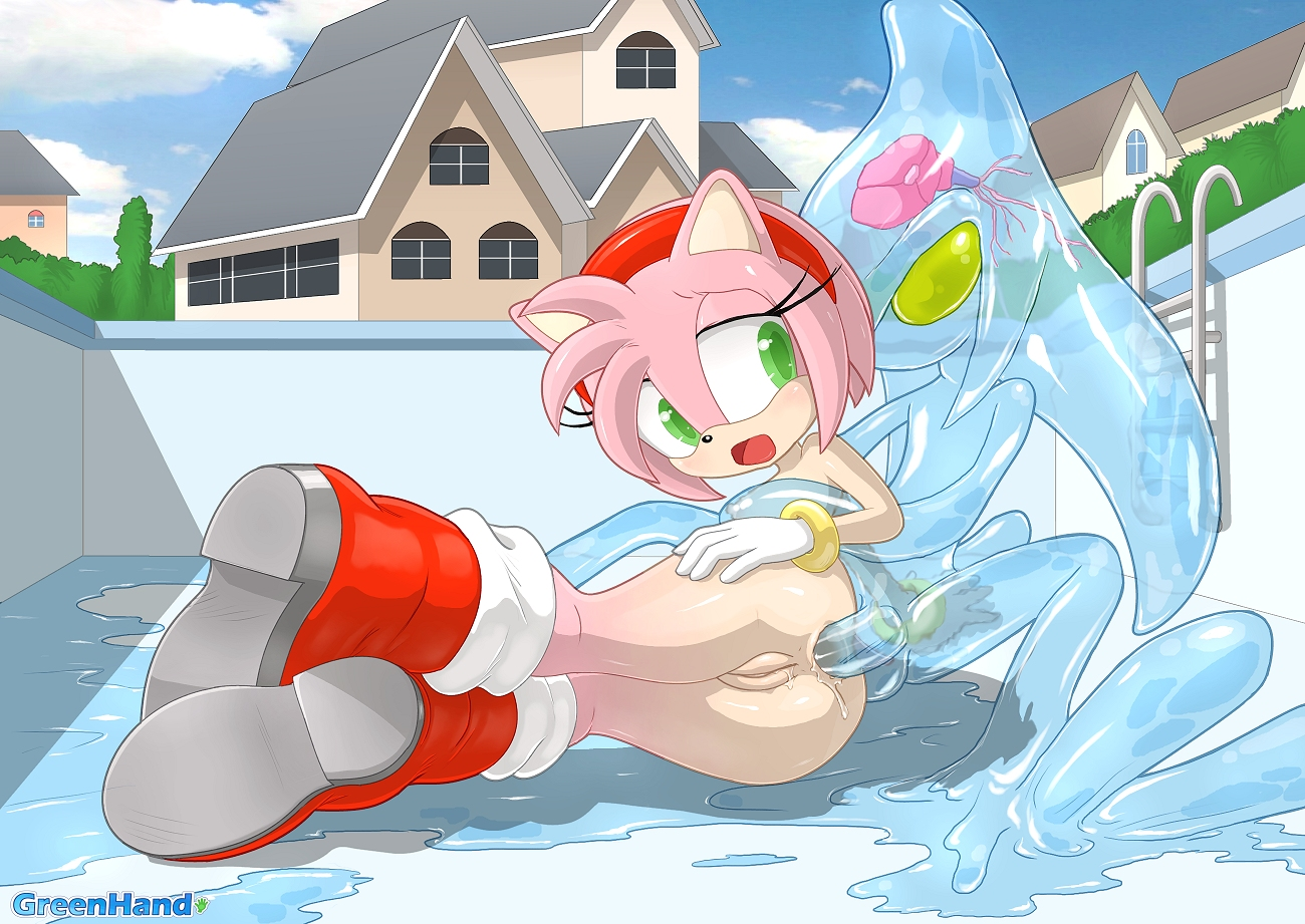Amy Rose Anal