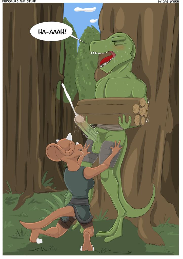 Dinosaurier Hentai