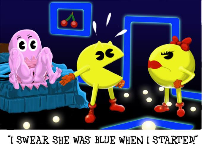 Ms Pacman Porn My Sex Toy