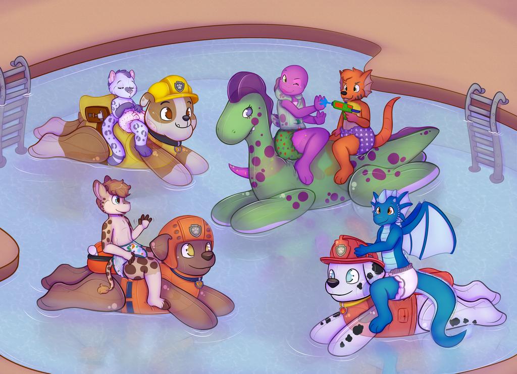 pool Inflatable toy masturbation