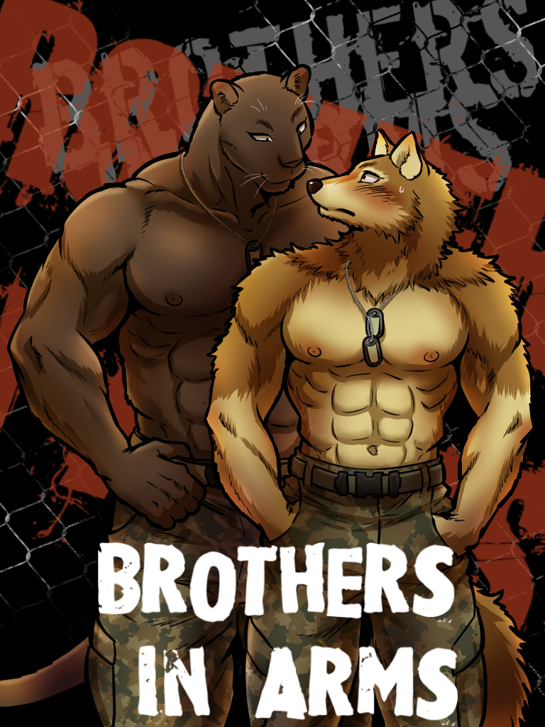 Furry gay kemono couple