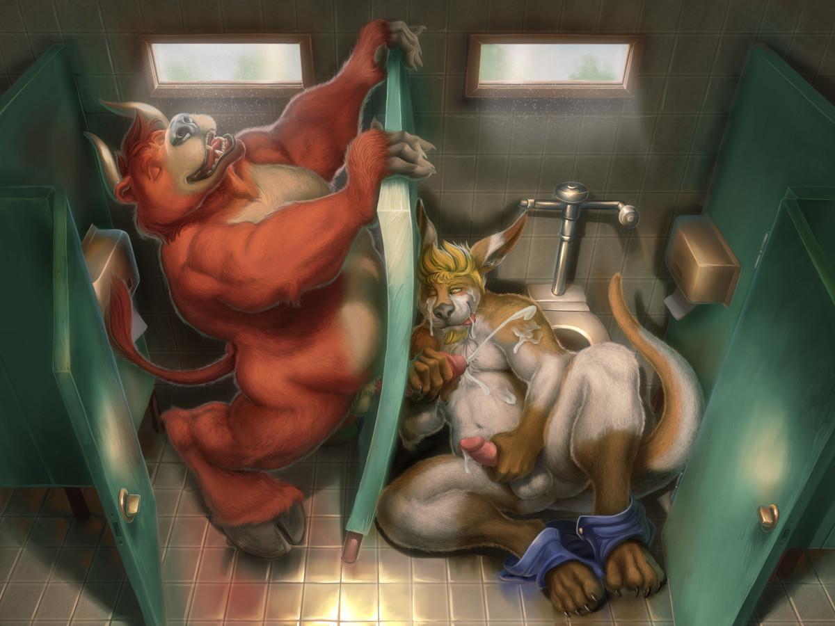Chubby gay orgie