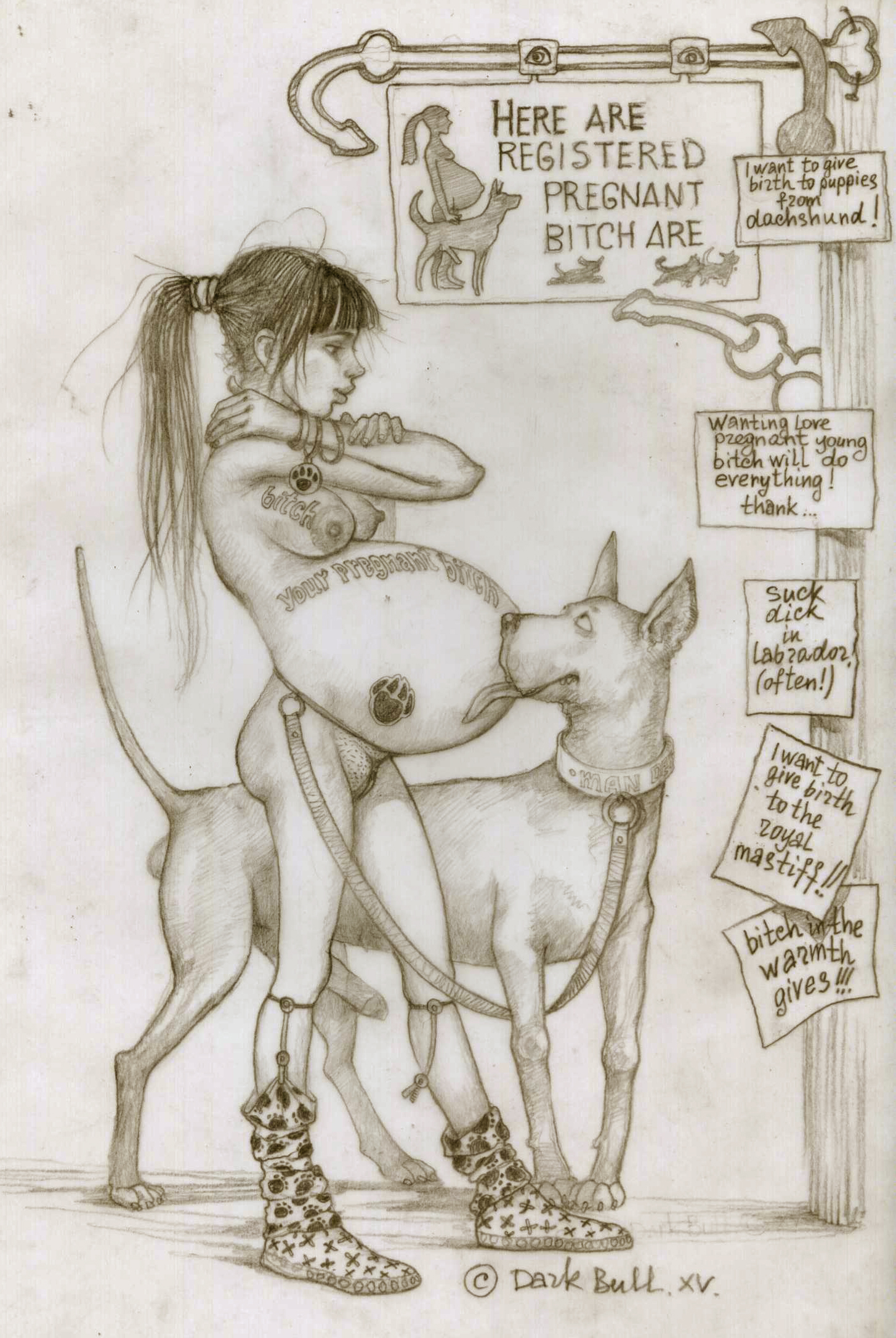bestiality pregnant stories