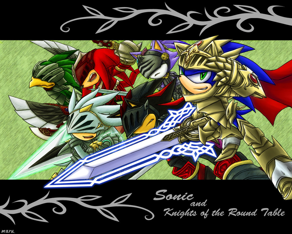 Knights Of The Round Table Wiki Pool Sonic And The Knight Of The Round Table