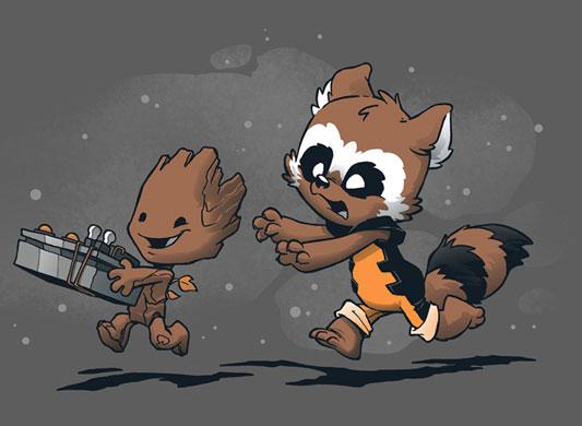 rocket raccoon e621