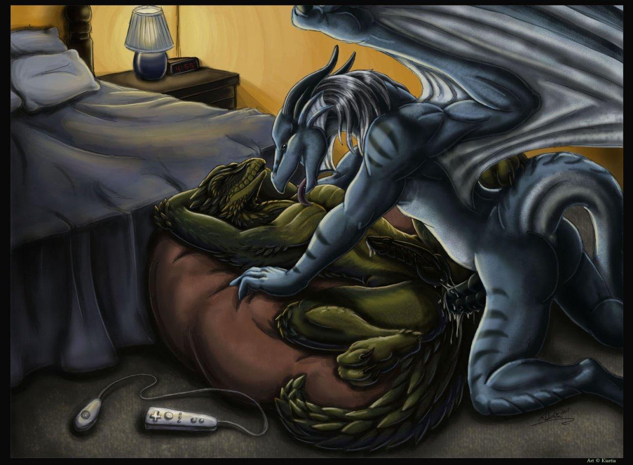 Секс ящер арт