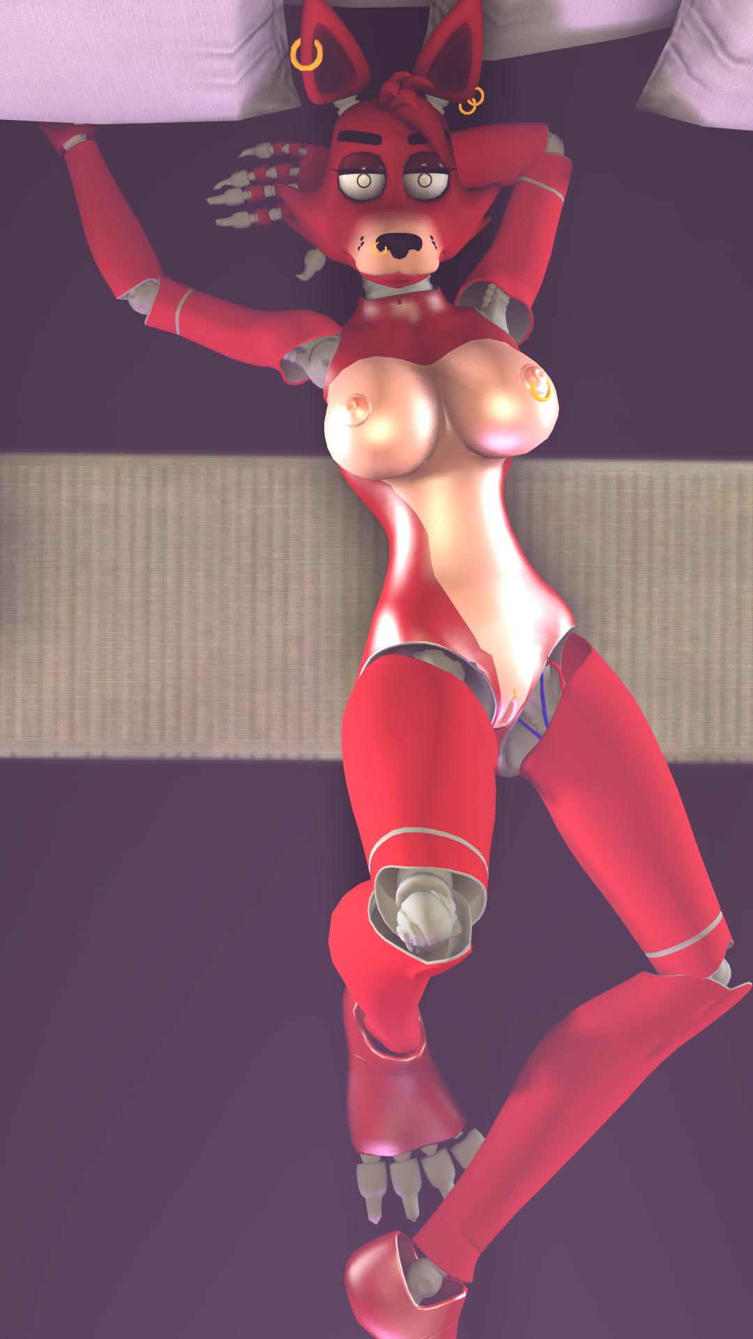Anime Foxy F Naf Sfm