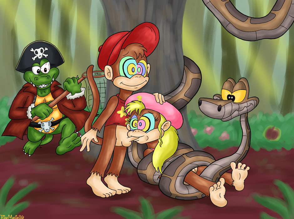 Candy kong naked with diddy kong picture 47