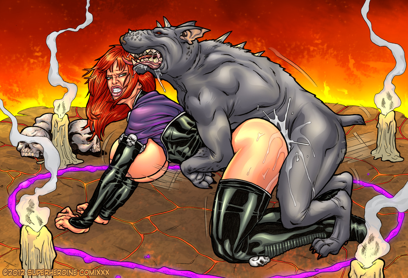 Female Superhero Hentai with 615443: dipp3rman - e621