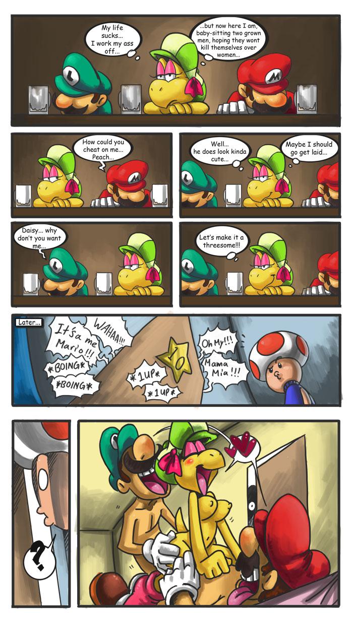 Mario y luigi porno gay