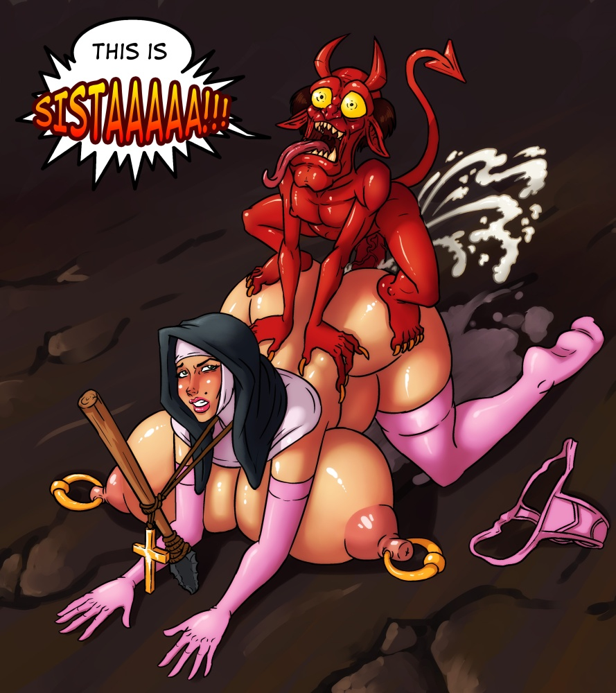 Big tits demon