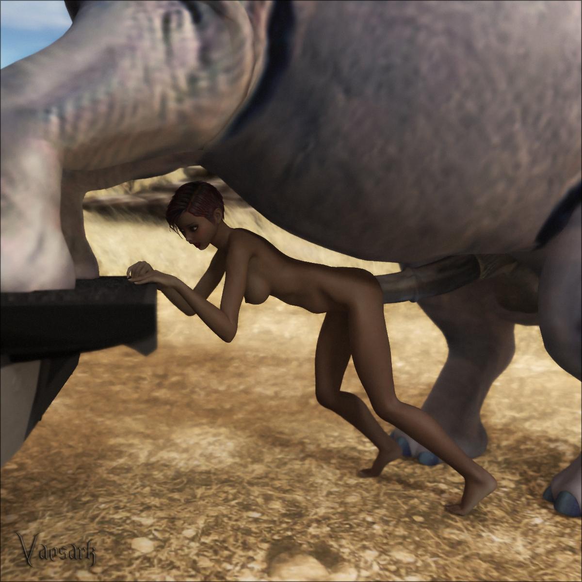 elephant porn