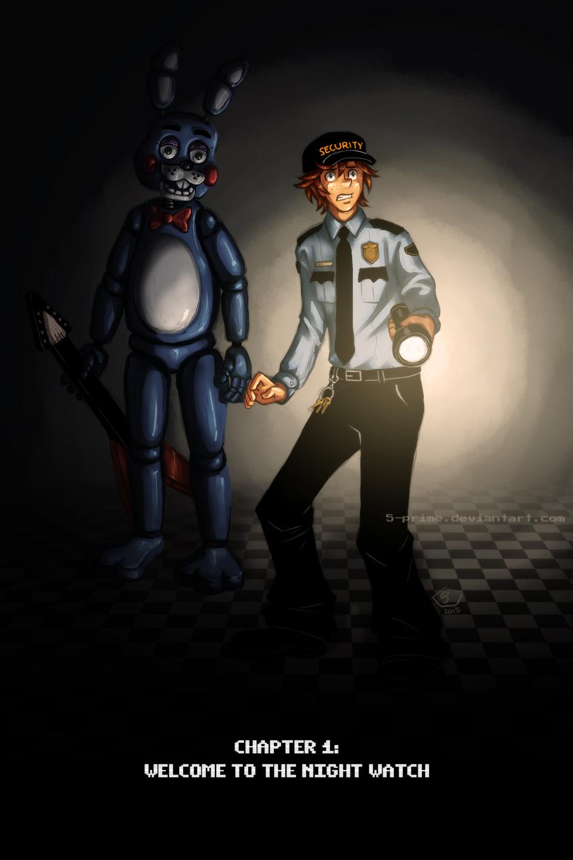 E621 5 prime animatronic comic duo english text five nights at freddy