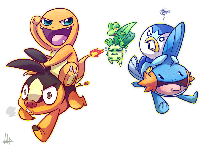 download pokemon starters piplup - photo #35