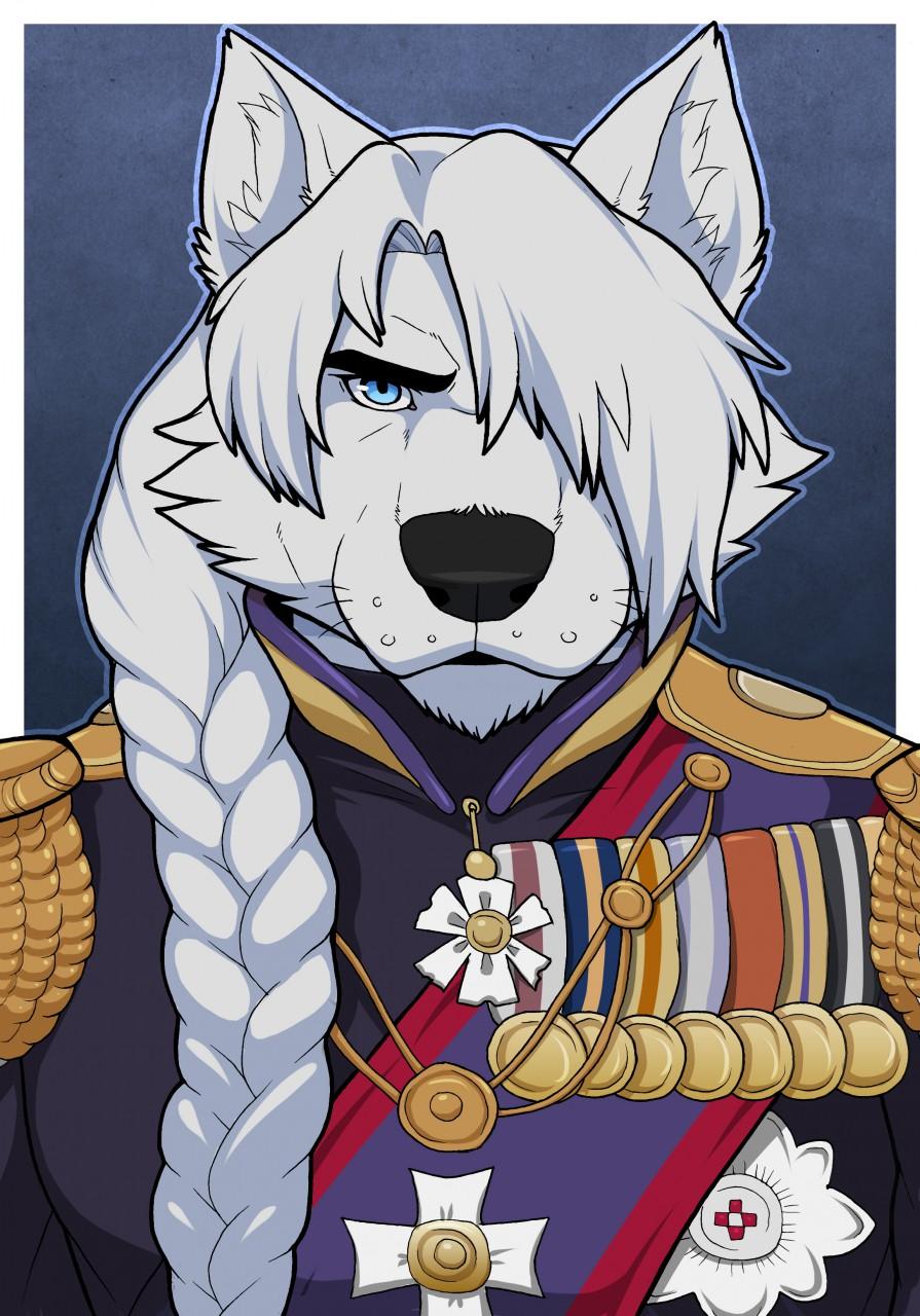 Anthro Arctic Wolf Anthro Arctic Wolf | w...