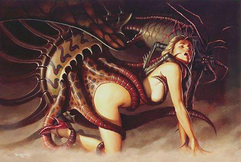 sex Erotic art alien
