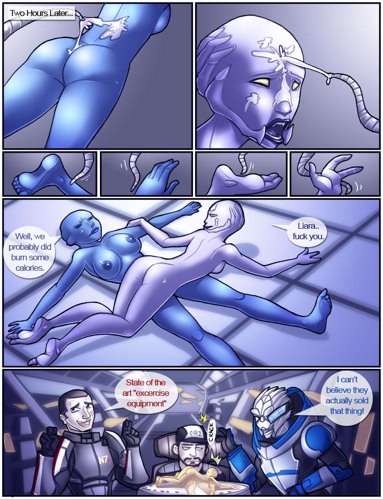Порно комиксы mass effect 3