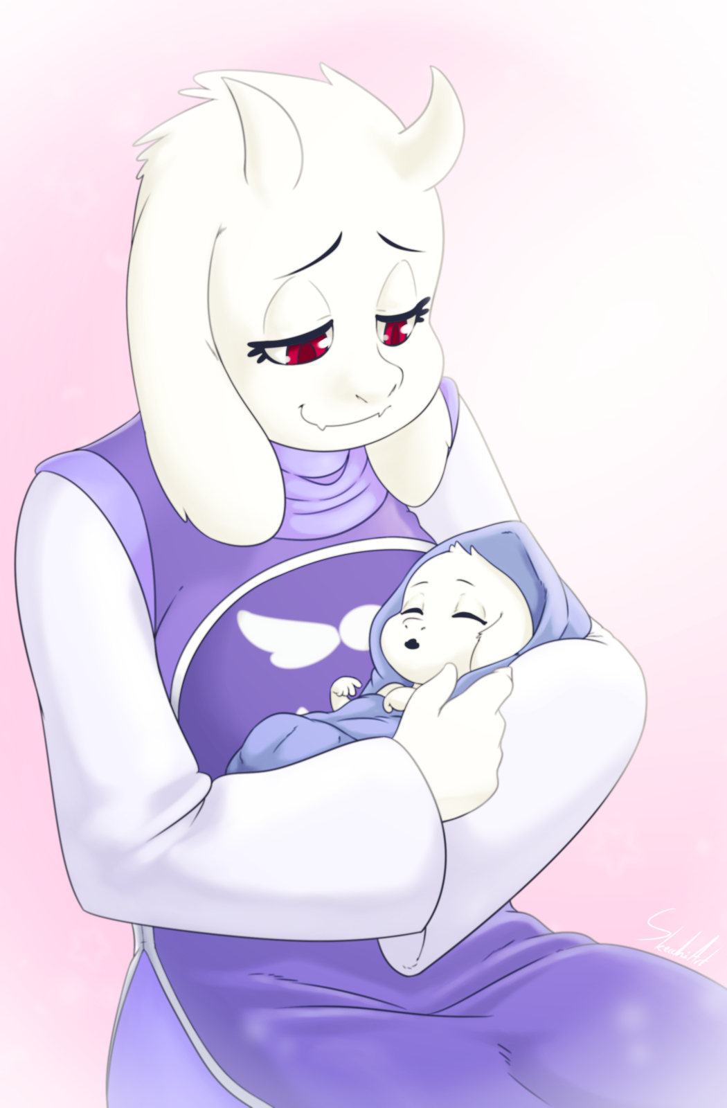 If undertale was anime toriel and asgore by for Garage ad ugine