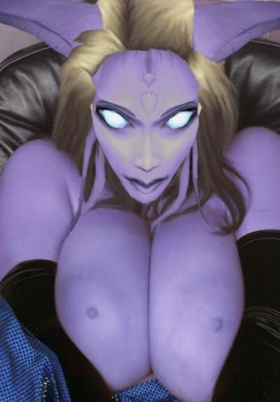Photo manipulation three breasts