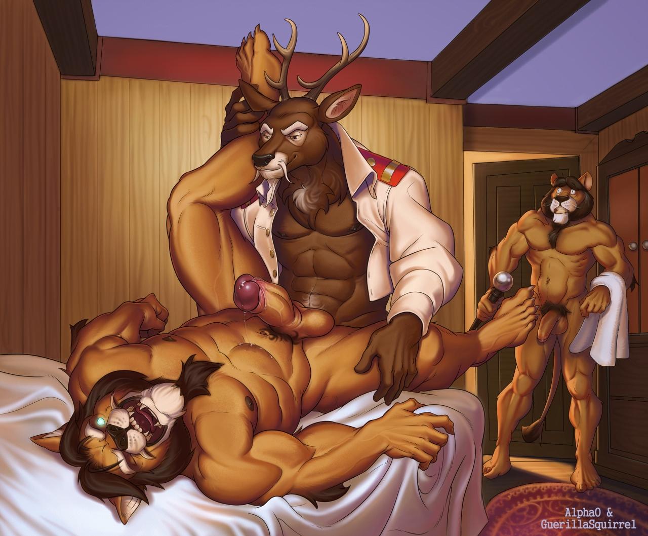 Wolfy Nail Exhausting Break Furry Comic-pic9995