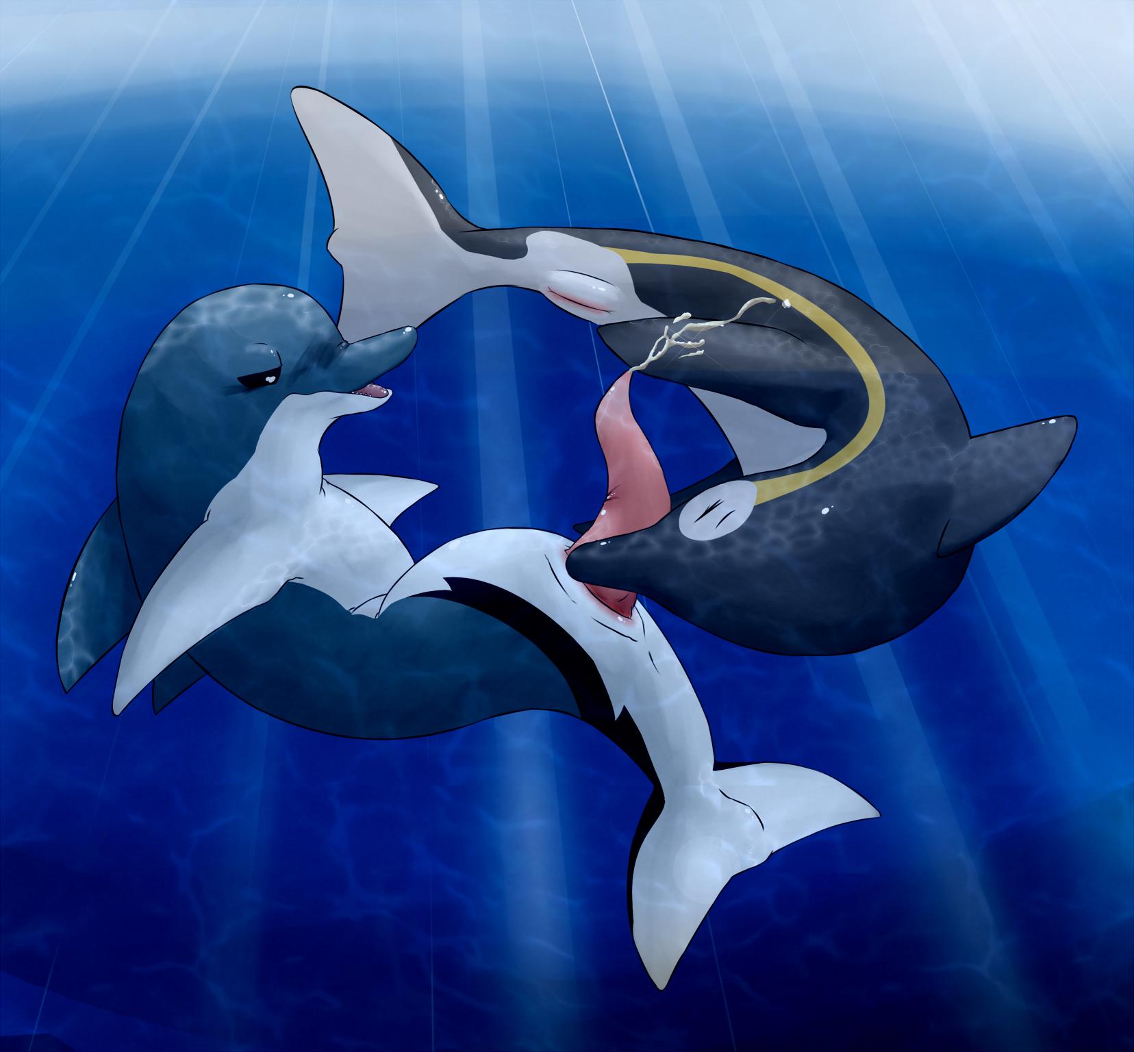 Whale cumshot