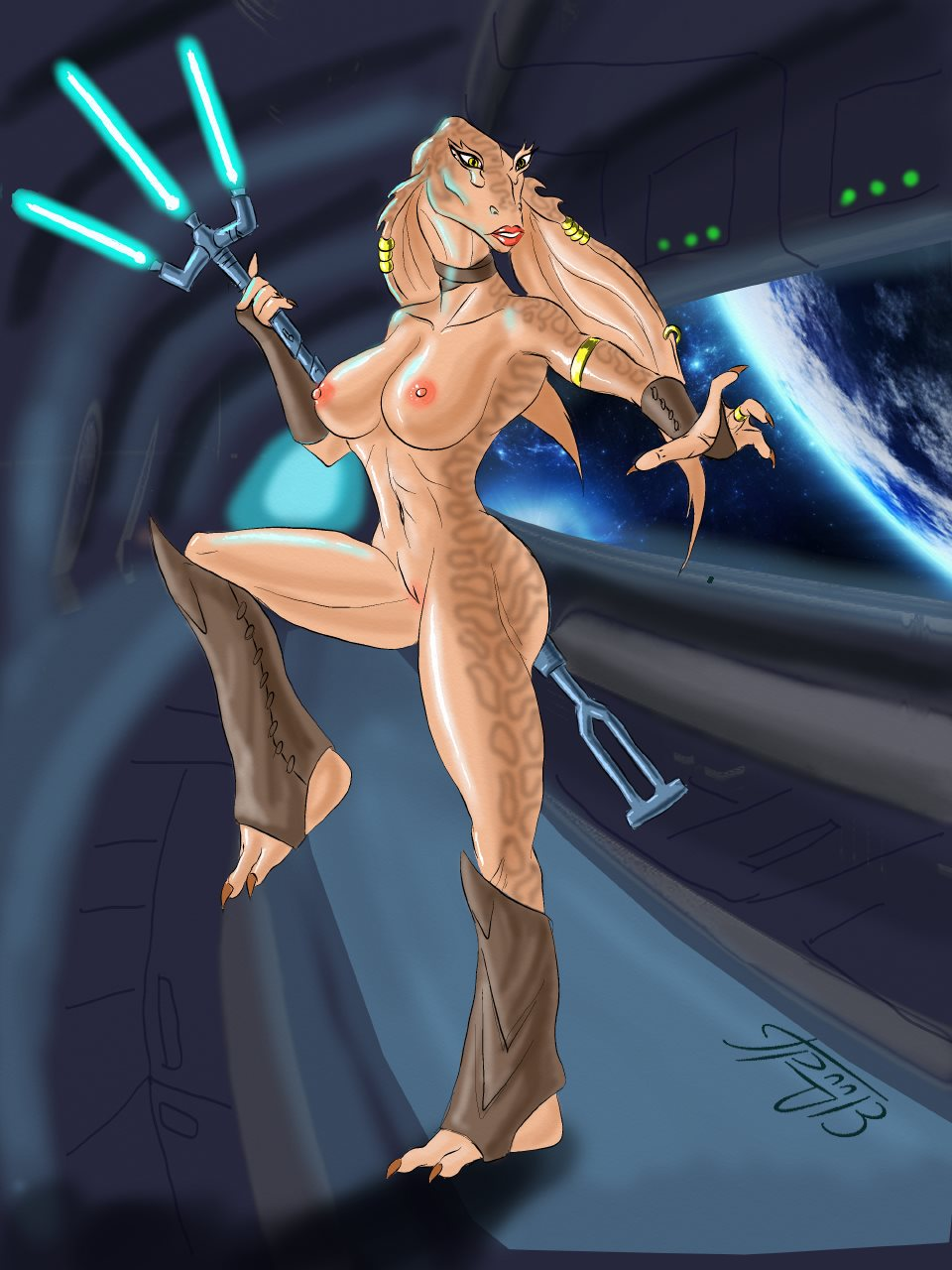 Naked Female Jedi 70