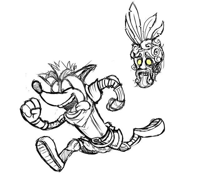 Crash Bandicoot  Running Shoes