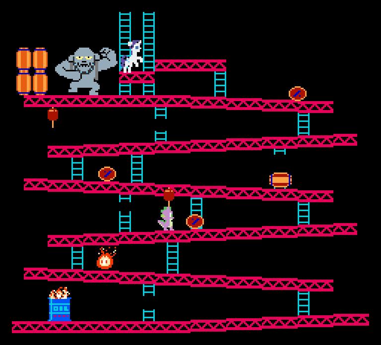 Donkey kong barrel pixel - photo#4