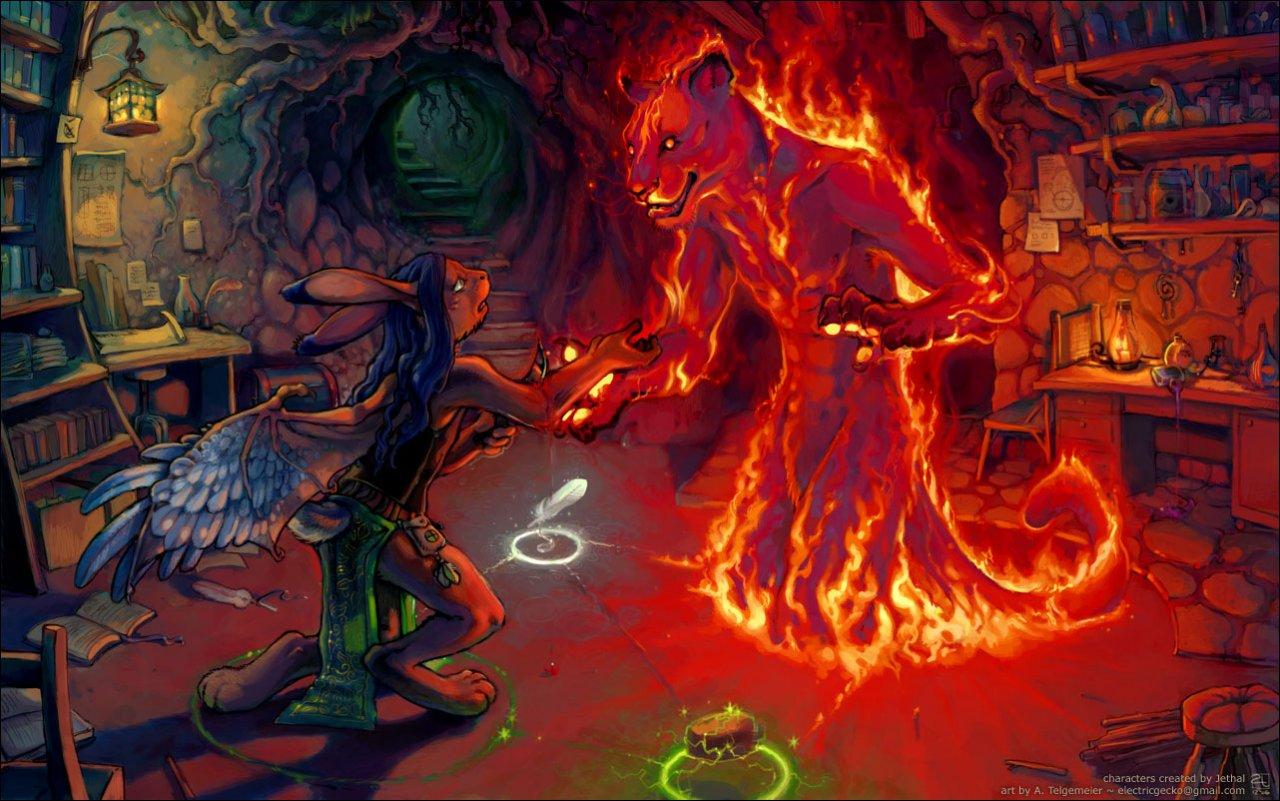 #3981: amara_telgemeier - e621Female Fire Elemental
