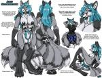 2016 aleu_moonshadow animal_genitalia animal_penis anthro anus areola black_anus black_fur black_penis black_pussy blue_fur blue_hair body_hair breasts butt canine canine_penis claws clothed clothing english_text fenrir_lunaris fur grey_fur hair herm intersex long_hair mammal multi_breast nude pawpads penis pubes pussy sheath shirt shorts signature smile solo text toe_claws white_furRating: ExplicitScore: 0User: GameManiacDate: December 06, 2016
