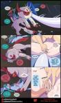 2017 absol alternate_color anal anal_penetration animal_genitalia animal_humanoid anus areola artemis_the_absol bell big_breasts blue_fur blue_hair blush bow breasts bushes butt camping clothed clothed_feral clothing collar comic cum cunnilingus dialogue eeveelution english_text eyes_closed facial_markings female female/female feral feral_on_feral footwear forest fur girly glaceon glacey hair hi_res horn huge_areola huge_breasts human human_on_humanoid humanoid ice knot legendary_pokémon long_tongue lugia male male/female male/male mammal markings matemi meagan motion_lines night nintendo nipples one_eye_closed open_mouth oral orange_hair penetration penis pink_fur pokémon pokémon_(species) pussy pussy_juice rainbow_clothing red_fur red_scales saliva scales sex shiny_pokémon silver_soul sweat teeth tent text tongue tongue_out tree vaginal video_games white_fur white_hair white_scales wingsRating: ExplicitScore: 25User: Azula_ArktandrDate: November 19, 2017