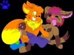 2010 anthro canine dog duo eevee hindpaw male mammal marquis2007 marquis_the_evee nintendo paws pokémon socks tickling video_games   Rating: Safe  Score: 1  User: David_Paw_2013  Date: May 29, 2013