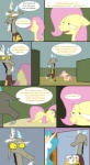 2011 blush comic cutie_mark discord_(mlp) disturbed draconequus elements_of_harmony english_text equine female feral fluttershy_(mlp) friendship_is_magic hedge hi_res horn horse humor jewelry_box male mammal maze my_little_pony o_o pony princess_celestia_(mlp) royalty seductive text the_weaver unicorn