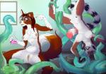 2016 anthro breasts canine clitoris collie danielle dog duo eyewear female forced genevieve_(togswitch) glasses goo kittentits lemur mammal nipples nude penetration potion primate pussy rape spread_legs spreading suspension tentacle_rape tentacles upside_down vaginal vaginal_penetration  Rating: Explicit Score: 31 User: TonyLemur Date: March 15, 2016