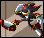 anthro clothing eulipotyphlan gloves handwear hedgehog male mammal sasisage shadow_the_hedgehog solo sonic_(series) video_games