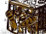 bit555 bitty cage dlost dlostarts feline male mammal pet tiger  Rating: Questionable Score: 0 User: bit555 Date: November 30, 2015