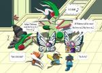 butterfree cinccino cosplay english_text flygon group johnbrain93 nintendo oshawott pikachu pokémon text video_games  Rating: Safe Score: 1 User: JohnBrain93 Date: July 13, 2015
