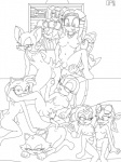 amy_rose anthro anus avian bird blaze_the_cat bpq00x cream_the_rabbit dickgirl group hedgehog humanoid_penis intersex mammal marine_the_raccoon monochrome nipples nude penis rouge_the_bat sally_acorn shade_the_echidna sonic_(series) sonic_riders swallow_(bird) tikal_the_echidna uncut vanilla_the_rabbit wave_the_swallow   Rating: Explicit  Score: 9  User: SonicJordan  Date: November 23, 2012