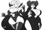2013 anthro battletoads big_breasts breasts canine cleavage clothed clothing cosplay costume dark_queen elvira erect_nipples female frankie_foster goof_troop hair huge_breasts human jaeh long_hair mammal monochrome nipples peg_pete   Rating: Questionable  Score: 7  User: Robinebra  Date: October 23, 2013