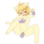 blonde_hair blue_eyes bottomless cat clitoris clothed clothing cub disembodied_hand disembodied_penis drooling duo feline female flat_chested from_behind fur hair half-dressed kemono loli male male/female mammal nipples no_(artist) open_mouth penetration penis pussy pussy_juice saliva short_hair solo_focus spread_legs spreading tan_fur vaginal vaginal_penetration young   Rating: Explicit  Score: 16  User: KemonoLover96  Date: April 11, 2015